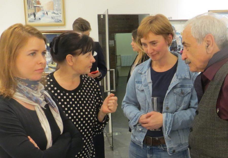 Мария Гудзенко, Наталья Плетнева-Гудзенко, Светлана Брезицкая и Геннадий Гольштейн
