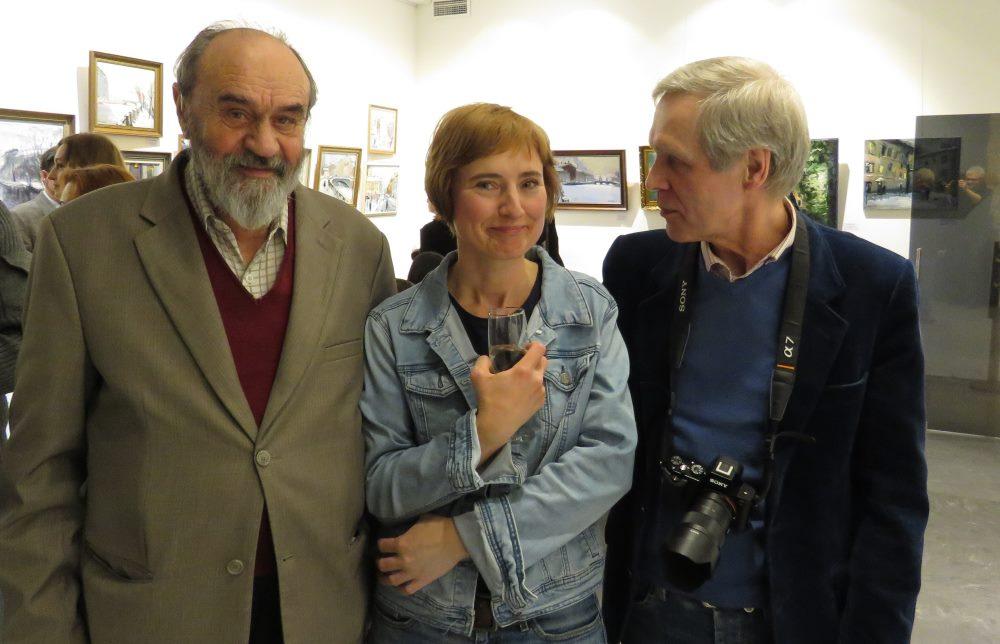 Николай Благодатов, Светлана Брезицкая и Николай Грибов
