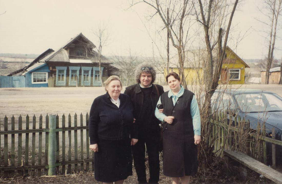 Медное. С Татьяной Николаевной и Галиной Викторовной. 1997 г.