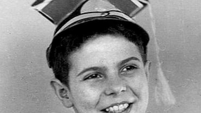 Юный Кароль (Кирилл) Модзелевский. 1946 год. Варшава
