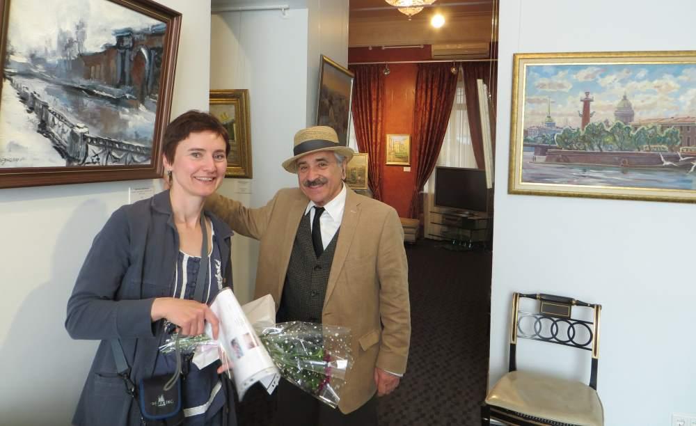 С Геннадием Гольштейном